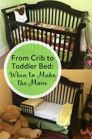 From Crib To Bed From Crib To Toddler Bed When To Make The Move The Inspired Home