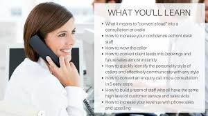 Front Desk Upselling 5 Steps To The Perfect Call