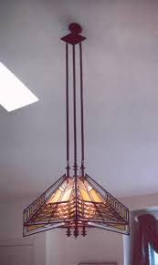Butterfly Chandelier Frank Lloyd Wright Inspired Butterfly Sumac Chandelier Custom