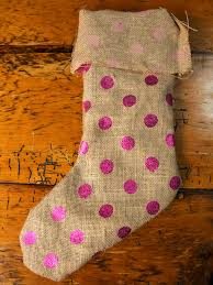 Homemade Christmas Stockings by How To Make A No Sew Burlap Christmas Stocking How Tos Diy