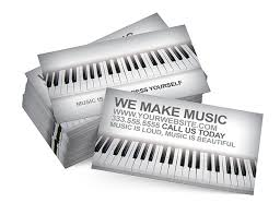 Business Card Music Music 2 Digital316 Net