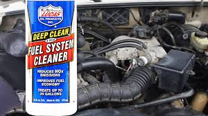 lexus ls430 fuel economy does lucas fuel system cleaner actually work with proof youtube