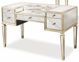 Mirrored Desks Furniture Borghese Mirrored Desk From Bassett Mirror Coleman Furniture