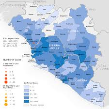 Map Of Sierra Leone Who Ebola Maps 2015