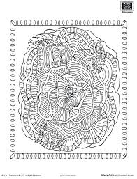 detailed coloring pages adults free animal printable