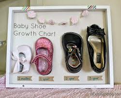 baby shadow box baby shoes shadow box painted confetti