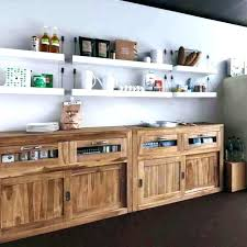 cuisine facade meuble bas cuisine bois massif la placard en pin socialfuzz me