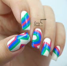 retro nails with barry m gelly line lucy u0027s stash