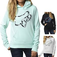 women s fox motocross gear time out womens pullover hoodies