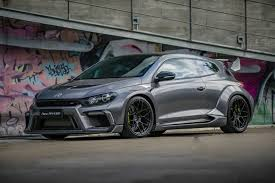 Widebody Vw Scirocco R Comes As A Breath Of Fresh Air Despite Its