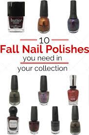 handtastic intentions my top 10 fall nail polish picks