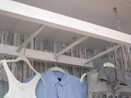 laundry room winsome laundry hanging drying rack large image for