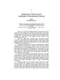 artikel format paper ilmiah metode ilmiah penulisan artikel jurnal ilmiah