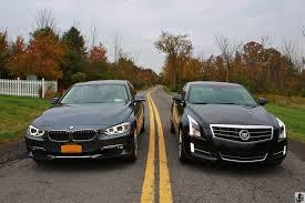 test drive cadillac ats 2 0t vs bmw 328i