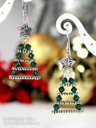 spacer earrings here s a pair of christmas earrings made with multi holed