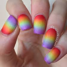 lgbt pride nails rainbow gradient let u0027s talk nail art