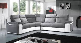 canapé d angle relax pas cher angle habillage cuir microfibre ou mixte personnalisable sur