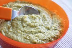 cuisiner le brocolis frais purée de brocolis à la douceur de la vache qui rit une recette de