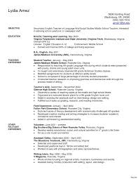 exle of teaching resume beautiful resume exles for cna format pdf