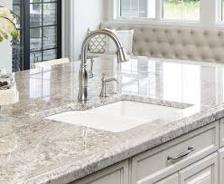 Cream Kitchen Cabinets With Glaze Granite Countertop Cream Kitchen Cabinets With Chocolate Glaze