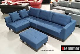 sofa in 2015 new multifunction sectional sofa in blue jean fabric s160b