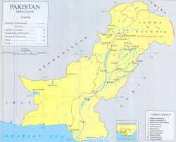 Map Of Pakistan And India by Pakistan Maps