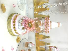 princess baby shower pink and gold baby shower centerpiece for princess baby