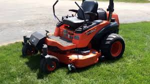 kubota zd331 commercial hydrostatic zero turn lawn mower for