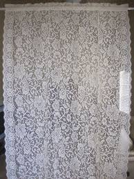 Lace Fabric For Curtains 12 Best Vintage Lace Curtains Images On Pinterest Lace Curtain
