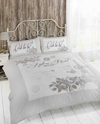 Duvet Bed Set Paris Duvet Cover Set For Single Double And King Size Bed Bed