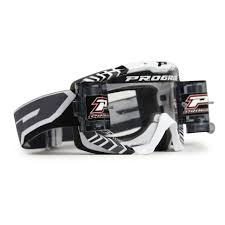 motocross helmet and goggles progrip motocross mx roll off 3458 goggles white black grey