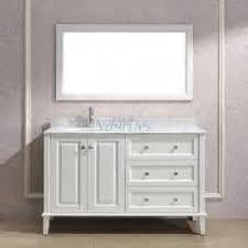 41 Inch Bathroom Vanity by Andover 55 Inch Antique Bathroom Vanity Set White Finishjpg 55