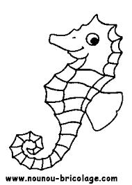 Animaux marins 10 Animaux  Coloriages à imprimer