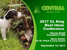 central garden pet cent presents at cl king 15th annual best
