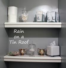 Decorate Bathroom Shelves Bathroom Shelves Bathrooms Ideas