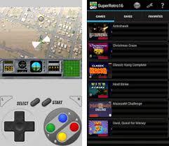 snes apk superretro16 lite snes emulator apk version 1 7
