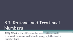warmup is u2026rational or irrational guess if you don u0027t know ppt