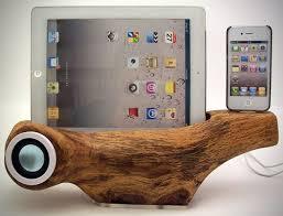 apple iphone tree speaker station by rockapplewood