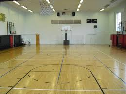 Bright Interior Nuance Breathtaking And Modern Nuance Of Indoor Basketball Court Accented