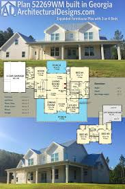 One Story Farmhouse by Best 25 Farmhouse Plans Ideas Only On Pinterest Farmhouse House