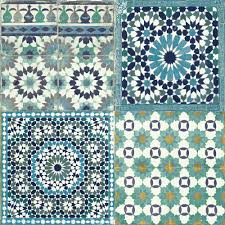 Kitchens B Q Designs Grandeco Sapphira Blue Mosaic Tile Wallpaper Blue Mosaic Tile
