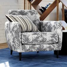 the hill side palm leaves parlour chair cb2
