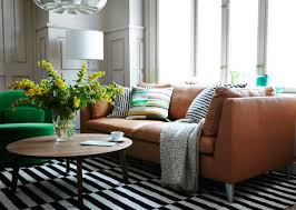 Stockholm Leather Sofa Ikea Stockholm Leather Living Room Ideas Pinterest Ikea