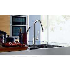axor citterio kitchen faucet axor citterio single lever kitchen mixer with pullout spray