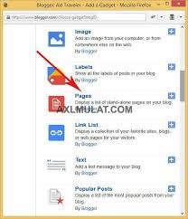 blogger com how to create sitemap page in blogger blog step by step axlmulat com