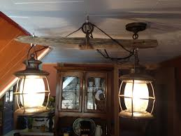 Diy Light Fixtures by Western Decor Old Single Tree Light Fixture That My Hubby Made