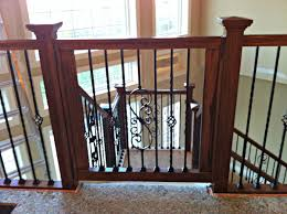 Baby Gate For Top Of Stairs With Banister And Wall I Need This Custom Gate For Stairs Great As Dog Gate U0026 Baby
