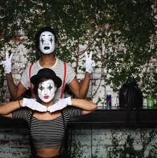 halloween mime makeup hotpants week in photos do the hotpants