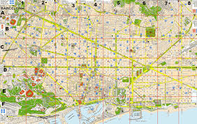 Detailed Map Of Spain by Large Barcelona Maps For Free Download And Print High Resolution