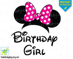 minnie mouse birthday pink bow printable iron transfer